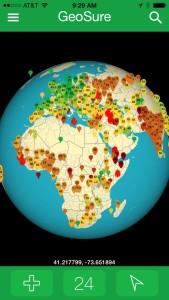 11-14 globe, hot spot icons