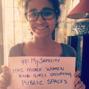 Our Program and Outreach Officer in Mumbai, Anu Salelkar's safe city is one where more women and girls occupy public spaces.