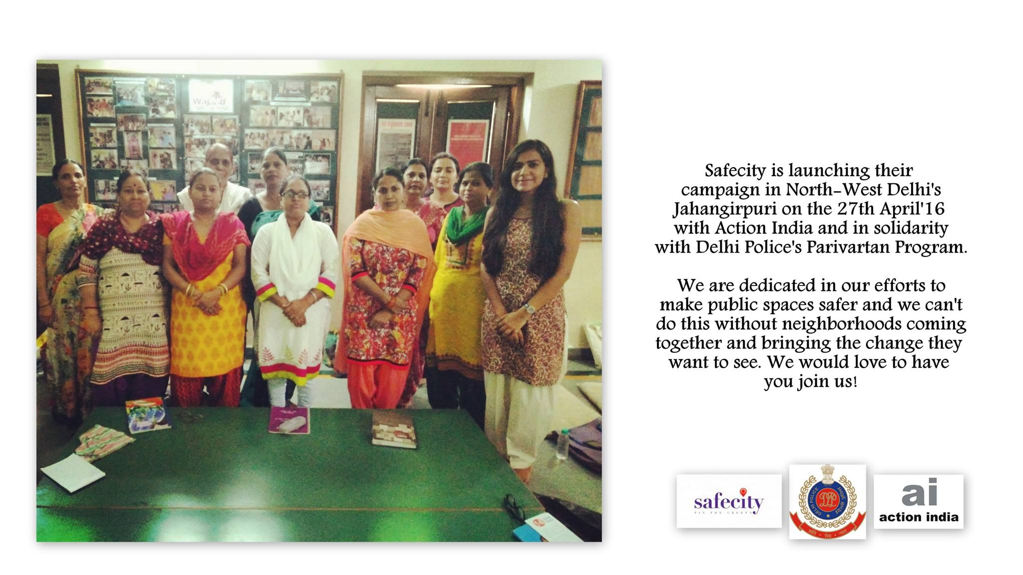 Safecity Campaign in West Delhi